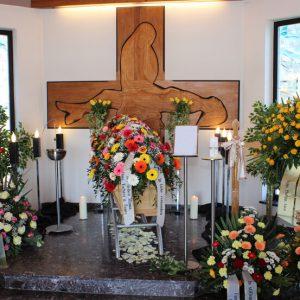 Aufbahrung in Maria Bild