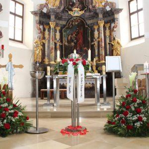 Urnenbeisetzung in St. Martin Raab